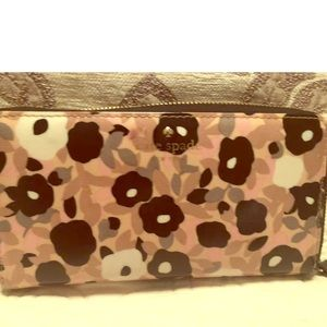 Kate Spade New York Floral Zip Around Wallet
